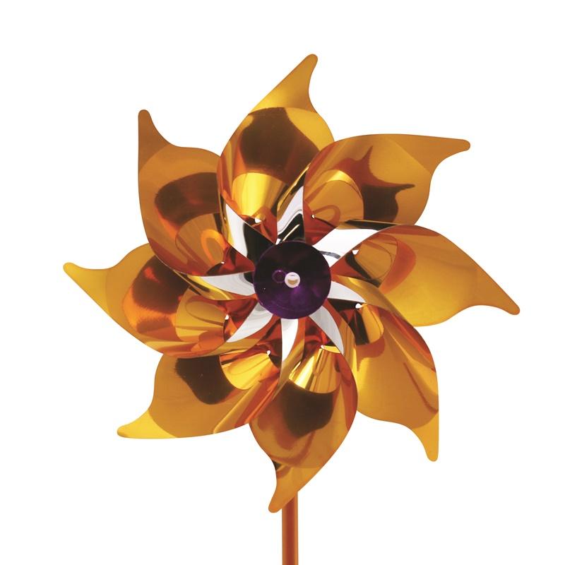 Plastik Rüzgar Gülü 18 cm 8 Kanat